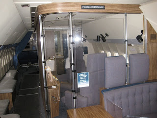 Presidential State Room on Former Air Force One