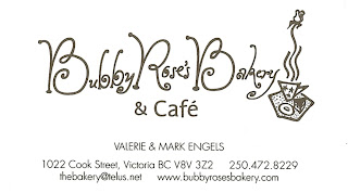Bubby Rose - Cafe On the Way to Craigdarroch