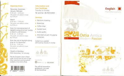 Ostia Antica Brochure 1