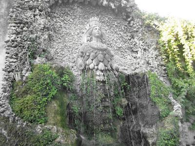 Diana of Ephesus (Mother Nature) at Villa d'Este Tivoli