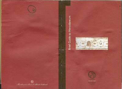 Herculaneum Guide Book Cover