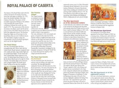 Reggia di Caserta Brochure