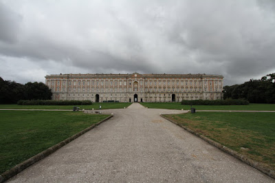 Caserta Under Ominous Skies