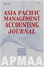 Asia Pacific Management Accounting Journal