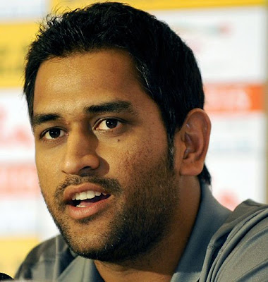 Dhoni - Indian Cricket Team present Captain and wicket keeper