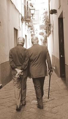 Old Friends Walking Stills