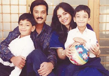 Actor Karthik Family Photos