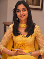 Thamanna beautiful smile in Yellow dress pictures