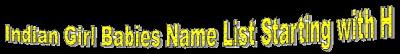 Indian girl babies names list, Tamil Hindu Girl babeis god name list