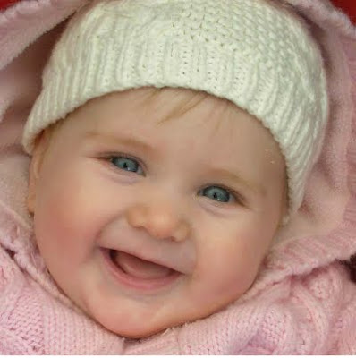 Lovely girl baby cute smiling photo