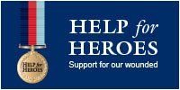 Dave is running for Help for Heroes