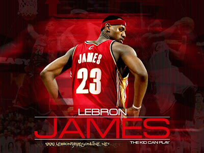Large Images: LeBron James wallpapers