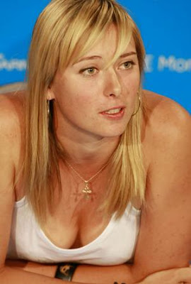Australia open tennis 2009: sharapova