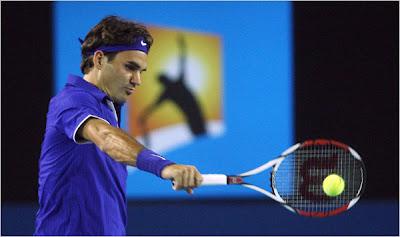 Australia open tennis 2009: Roger Federer