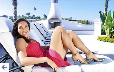 Jelena Jankovic hot legs