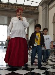 ¡VIVA MÉXICO! espectáculo infantil en el Alcazar del Castillo de Chapultepec