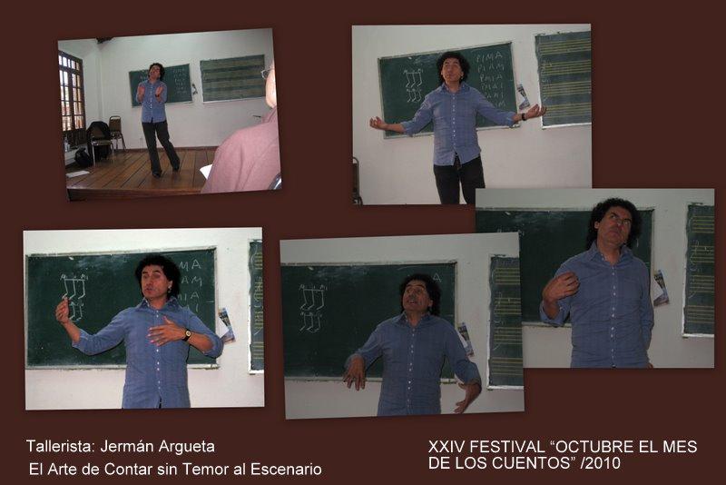 Octubre el mes de los cuentos domingo 17 de octubre 2010 for V salon temascalcingo