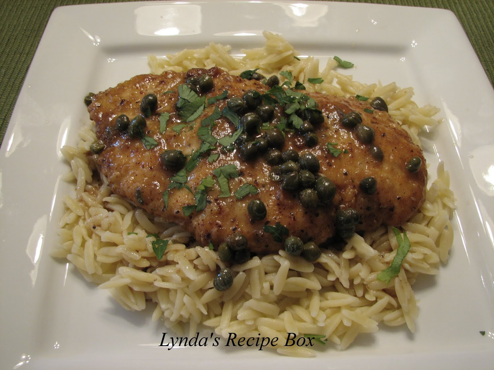 ... from Anthony. My Favorite Mahi Mahi · Flounder Piccata With Spinach