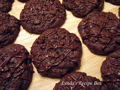 Lynda's Recipe Box: Triple Chocolate Brownie Cookies! (from Family ...