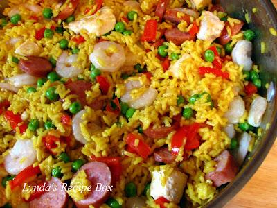 Easy Paella Recipe — Dishmaps
