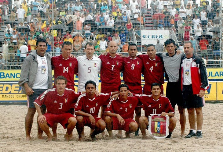 ELIMINATORIAS SULAMERICANAS PARA AS COPAS DO MUNDO FIFA DE BEACH SOCCER 2006 e 2007
