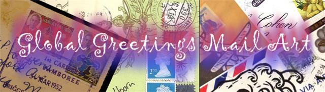 Global Greetings Mail Art