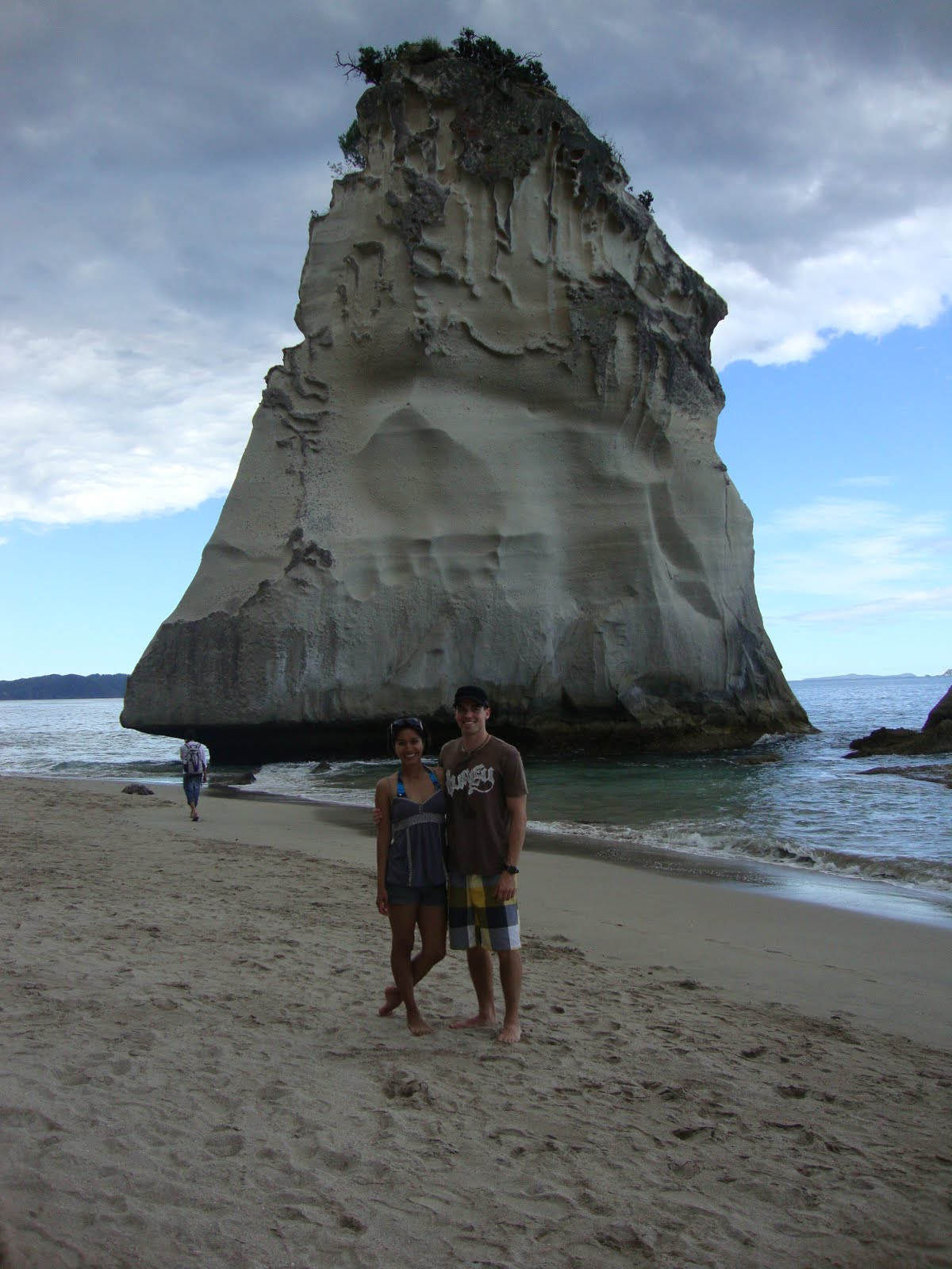 lost together cathedral cove new zealand jan 15 2010. Black Bedroom Furniture Sets. Home Design Ideas