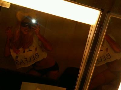 Lady Gaga in her panties