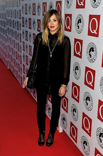 Fearne Cotton at the Q Awards