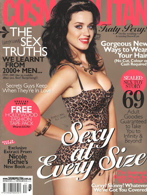 Katy Perry Cosmo Cover