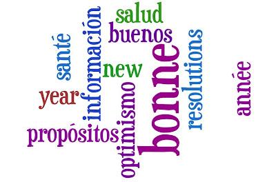 Bonne année; wordle