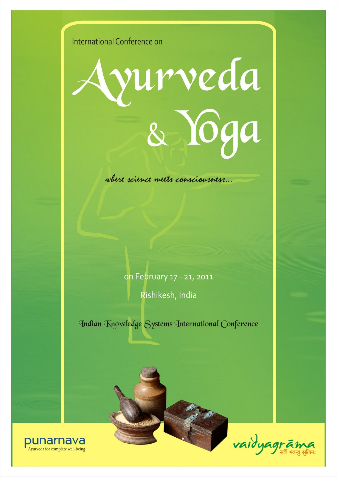 Ayurveda Yoga Poster For Colleges