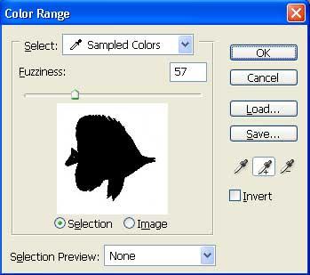 Gambar tutorial menyeleksi dengan Color Range 5