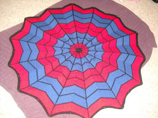 Spiderman Blanket Knitting Pattern : Jens knits and knonsense: Lacy Fingerless Mitts