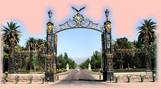 portones del parque General San Martin , _Mendoza