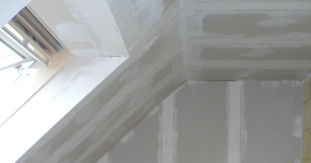 Ons huisje gyproc en ytong wanden afwerken for Wanden nieuwbouwwoning afwerken