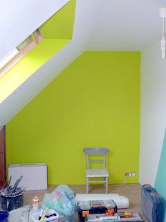 Ons huisje kinderkamers geschilderd - Schilderen gemengde kamer ...