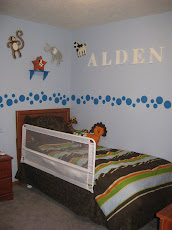 Alden's New Big Boy Bed