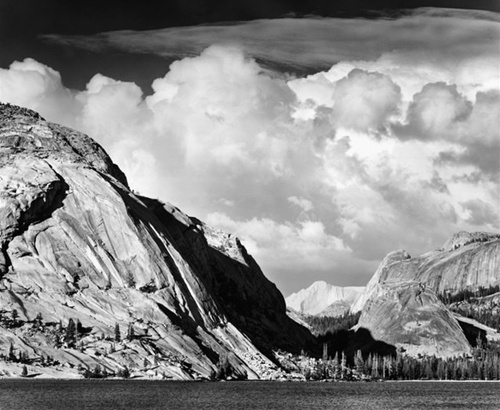 ansel adams photography road. Ansel Adams made this image