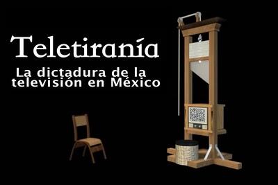 caratula documental Teletiranía (Teledictadura 2005)