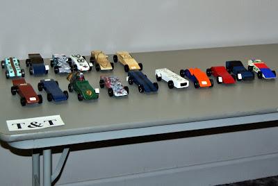 how to build awana race car