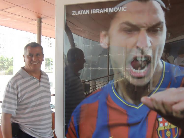Zlatan, jugador sueco