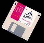 [AOL floppy]