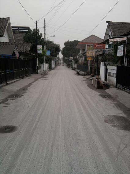 2nd Ashfall in Yogyakarta