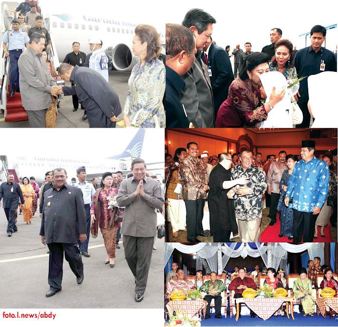 Kunjungan SBY dan Ibu Negara Ke Simalungun Sumatera Utara