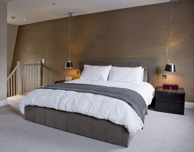 Ideas para decorar dormitorio suave - Pintura color vison ...