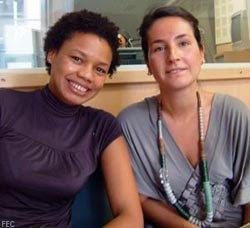 Gisela Monteiro e Inês Azevedo