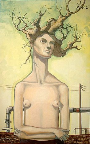 Mujer Árbol I. Todavía Viva