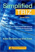 Indicação Bibliográfica: Simplified TRIZ - Kalevi Rantanen & Ellen Domb - Second Edition