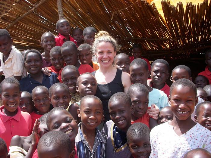 Seane Corn in Uganda